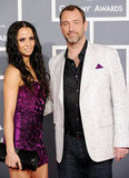 South Park cocreator Trey Parker attends the Grammys with his date.