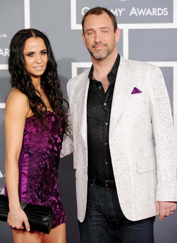 Trey Parker and Girlfriend, 2012