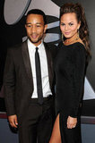 Engaged couple John Legend and Chrissy Teigen make a sexy pair at the Grammys.