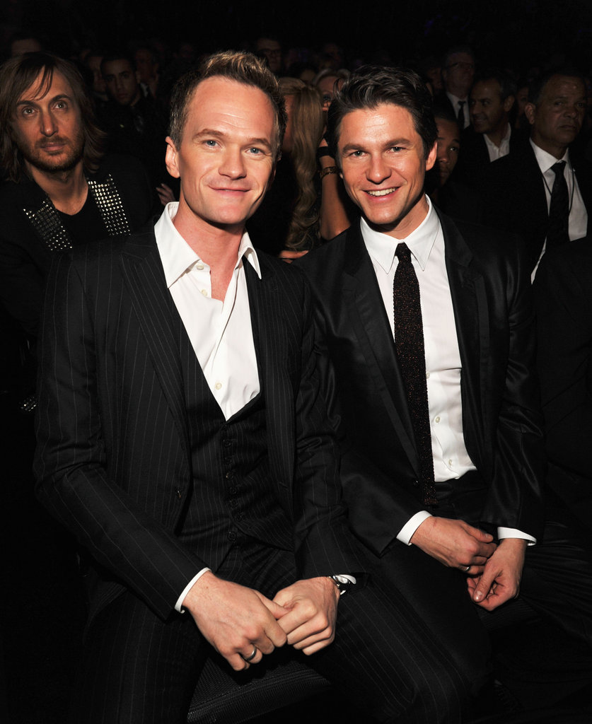Neil Patrick Harris and David Burtka make a hot couple suited up at the Grammys.