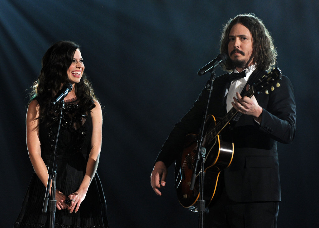 Joy Williams looked at John Paul White during their Grammy performance earlier this year.