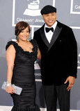 LL Cool J poses with his wife Simone Johnson.