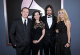 Grammy-winning duo Joy Williams and John Paul White of The Civil Wars (center) stand with their spouses.