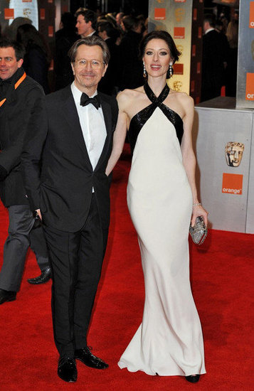 Gary Oldman and Alexandra Edenborough(2012 BAFTA)
