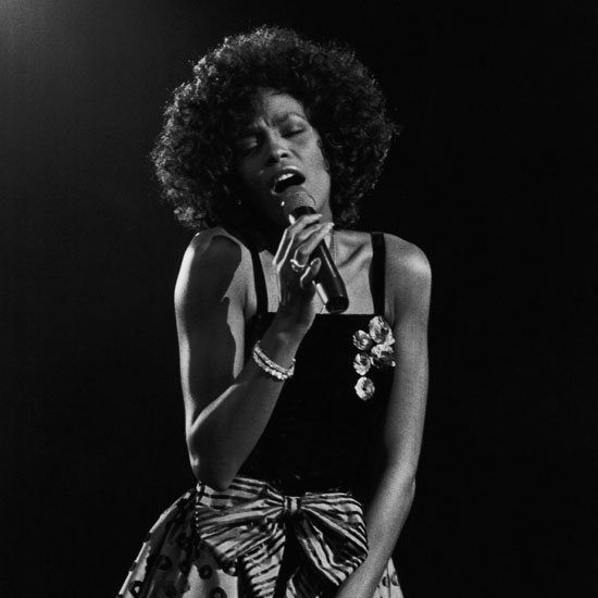 January 1988: Whitney Houston Performing