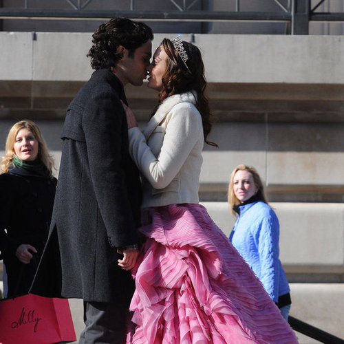 Blair and Dan Kissing on Gossip Girl Pictures
