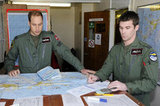 Prince William was involved in charting a course while in the Falklands.