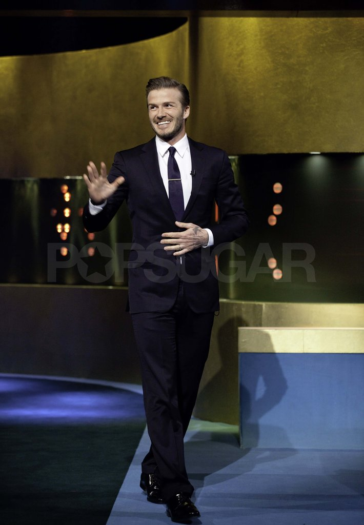 David Beckham on The Jonathan Ross Show.