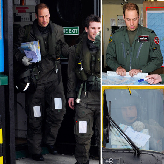 See Prince William Prepare For His First Falkland Islands Mission