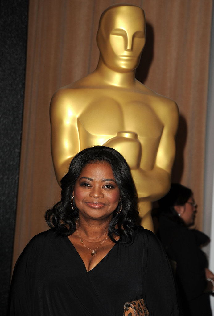 Octavia Spencer at the 2012 Oscar nominees lunch.