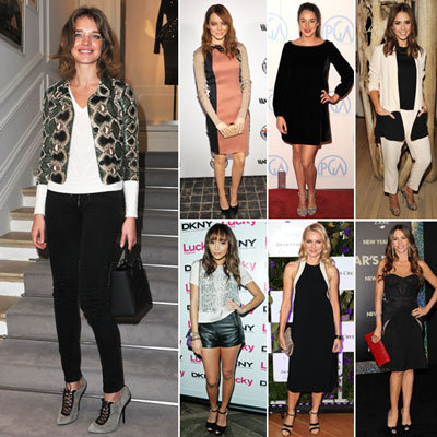 Celebrities Wearing Snakeskin Trend 2012