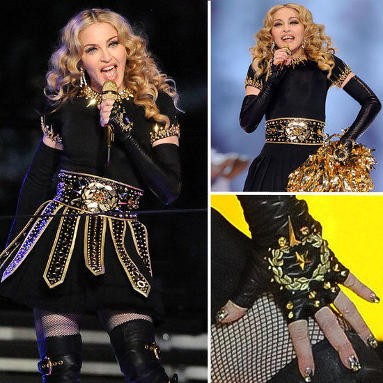 Madonna at Super Bowl Pictures