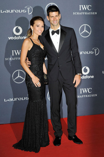 Jelena Ristic and Novak Djokovic