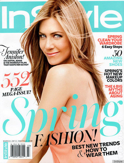 "Jennifer Aniston Talks Justin Theroux and Feeling ""Young Every Day"" For InStyle"