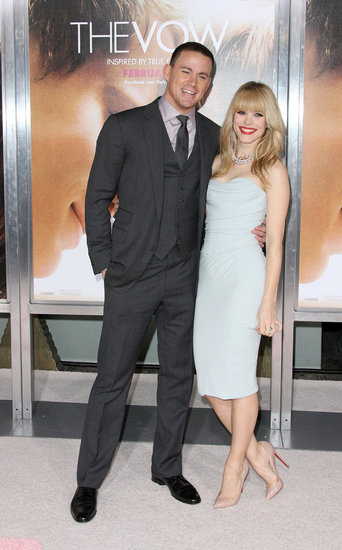 Channing Tatum and Rachel McAdams Pair Up For The Vow's LA Premiere