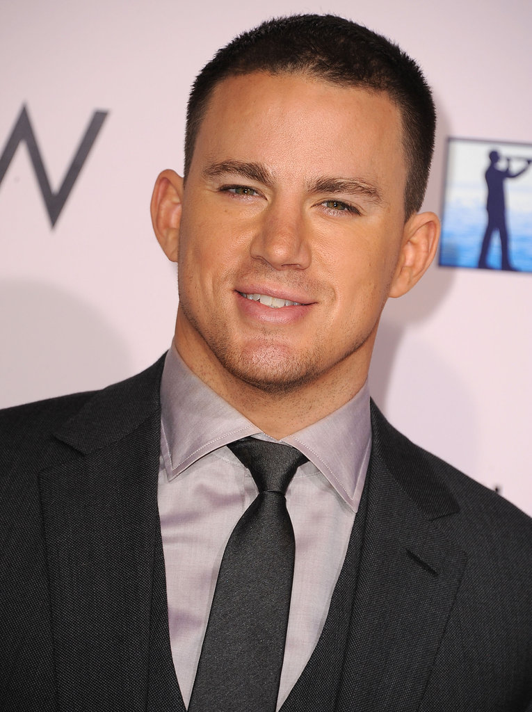Channing Tatum at The Vow premiere in LA.