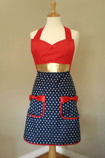 Wonder Woman Apron ($40)
