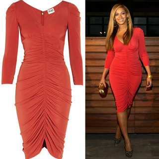Beyonce's Post-Baby Body Looks Great Thanks to Alice By Temperley's Super Flattering Red Frock! Nab It Now: