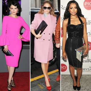 Jennifer Lopez, Ginnifer Goodwin and Kat Graham Wear Kzeniya