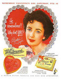 Elizabeth Taylor sweetens up this chocolate ad!