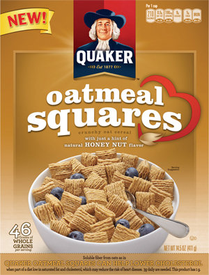 "Finding ""Me"" Time With Honey Nut Quaker Oat Squares 
