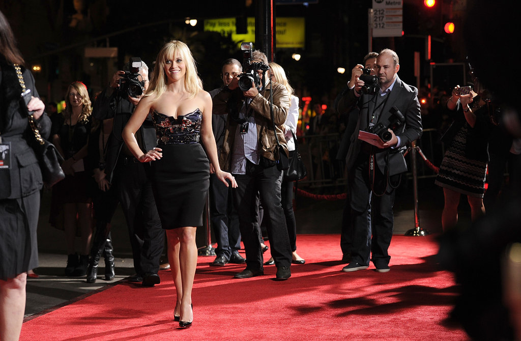 Reese Witherspoon walked the red carpet.