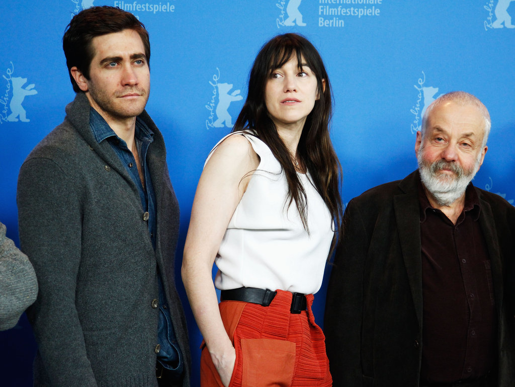 Jake Gyllenhaal, Charlotte Gainsbourg, and Mike Leigh attended a Berlin Film Festival jury photocall.