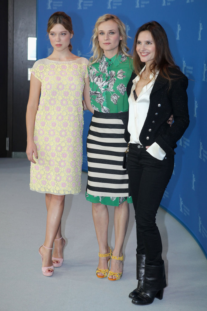 Virginie Ledoyen, Diane Kruger, and Lea Seydoux attended the Berlin Film Festival.