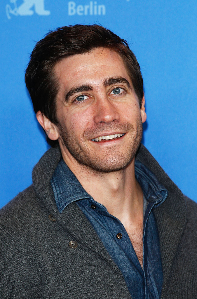 Jake Gyllenhaal posed for a picture.