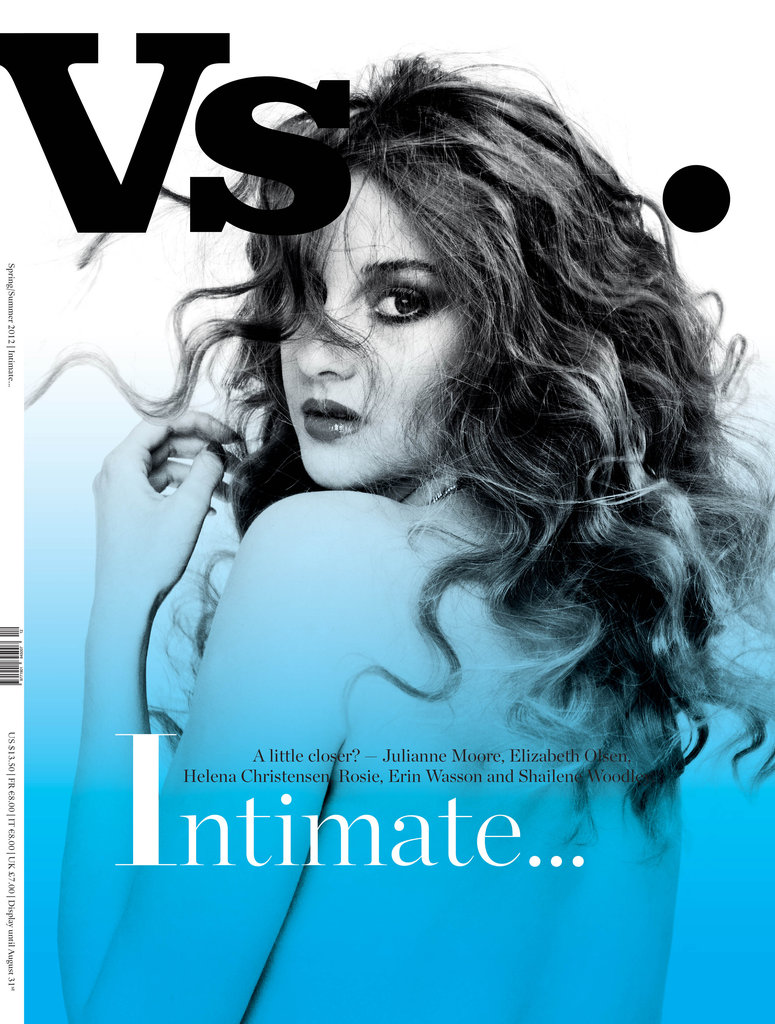 Shailene shines on the cover of Vs. magazine.