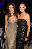 Cindy Crawford and Heidi Klum