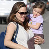 Pregnant Jennifer Garner Holding Seraphina Affleck Picture