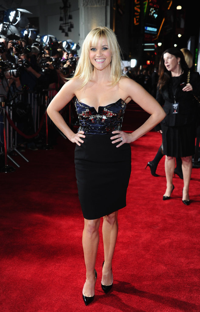 Reese Witherspoon wore Miu Miu to the LA premiere of This Means War.