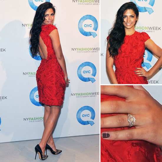 Camila Alves Debuts Her Sparkling Engagement Ring on the Red Carpet