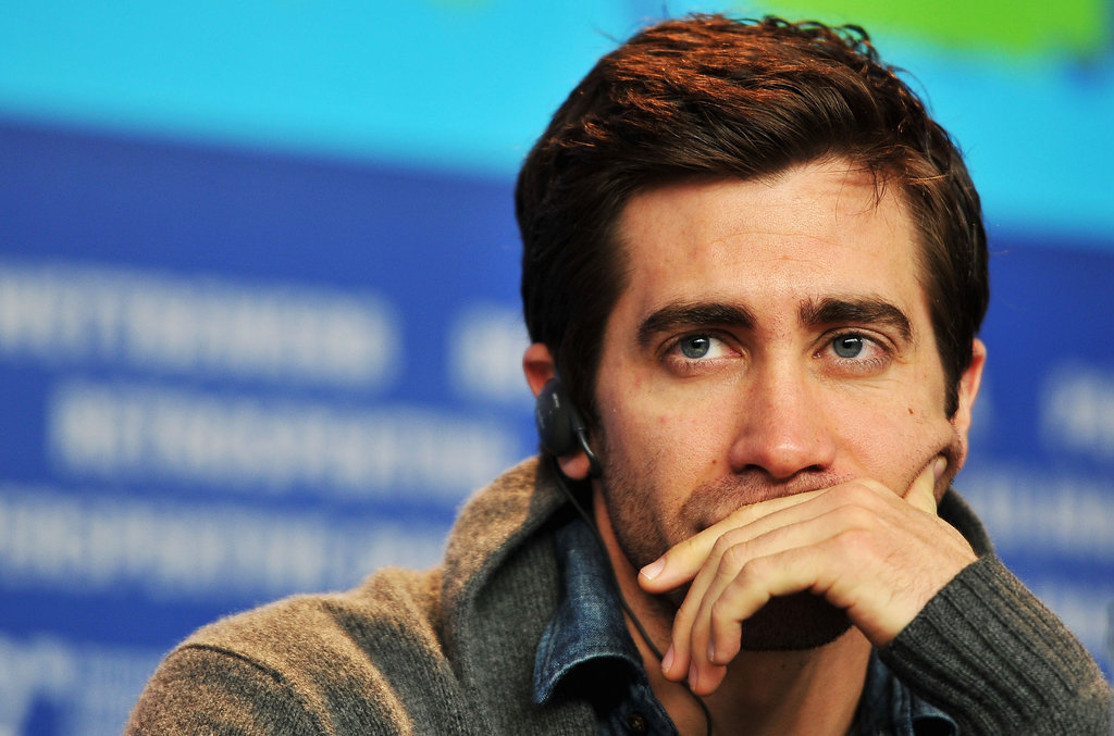 Jake Gyllenhaal posed at a Berlin International Film Festival event.