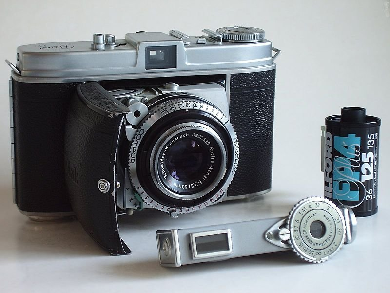 Kodak Retina Ib and rangefinder Source: Wikipedia