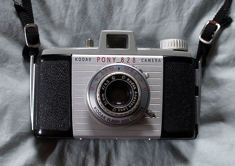 Kodak Pony 828 Source: Wikipedia