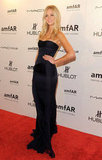 Erin Heatherton opted for an elegant strapless.