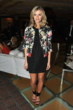 Brooklyn Decker gave us another look to gush over in a sweet floral topper.