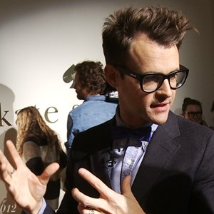 Brad Goreski NYFW Kate Spade Walk-Through 2012