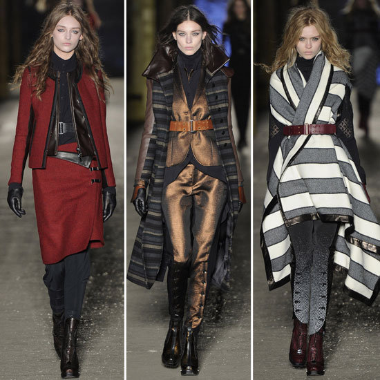 Rag and Bone Runway Fall 2012