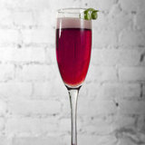 Açaí Champagne Cocktail