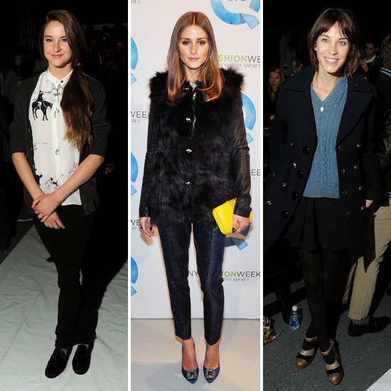 Shailene, Alexa, Olivia and More Get the NYFW Front Row Star Spotting Started