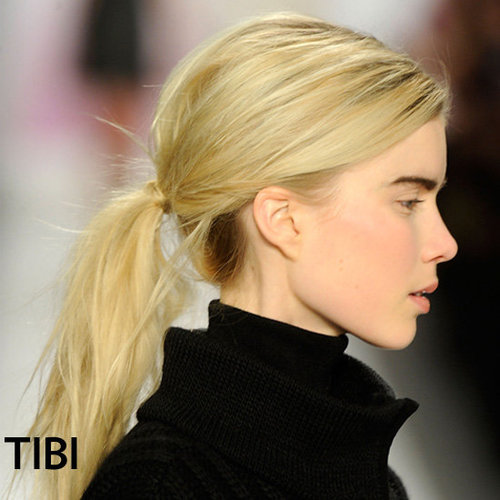 Tibi Fall 2012 Hair and Makeup Look