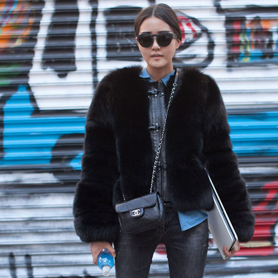 Stay updated on the insanely chic street style on display during New York Fashion Week here.