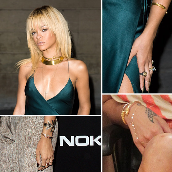 Happy Birthday, Rihanna! Re-Create Her Signature Stacked-Up Arm Bling