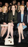 Laura Carmichael, Michelle Dockery, and Michelle Williams checked out Mulberry.