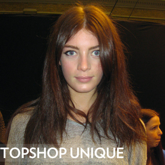 Behind The Scenes at Topshop Unique 2012 Autumn Winter