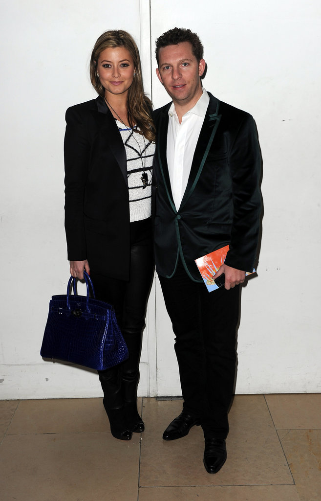 Holly Valance and Nick Candy at Matthew Williamson