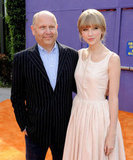 Chris Meledandri and Taylor Swift